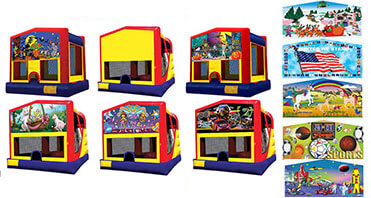 3 in 1 inflatable bounce house