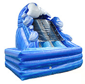 Super Splash Dual Water Slide