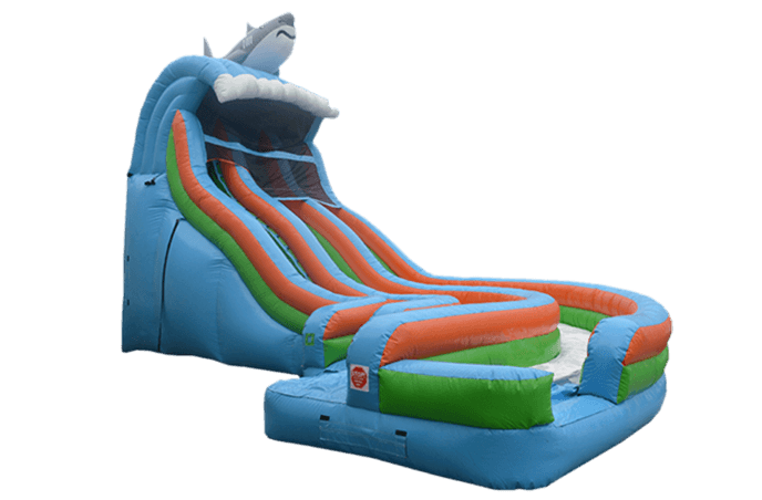 Dual Lane Aqualoop Water Slide
