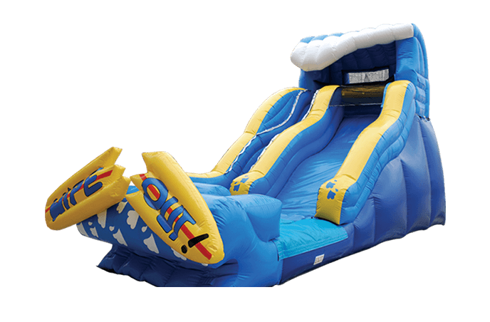 19' Wipeout water ride