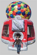 Gumball Machine Bouncer bounce house