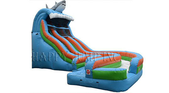 Dual Lane Aqualoop Waterslide water ride