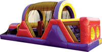 30-foot Backyard Obstacle Course inflatable
