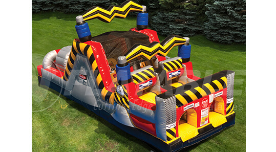 High Voltage Obstacle Inflatable Game