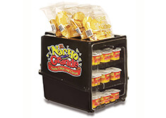 Nacho Cheese Cup Warmer and Chip Holder