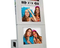 Four screen photobooth