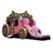 The Princess-Carriage-Combo bounce house