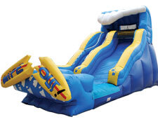 19-foot Wipeout inflatable