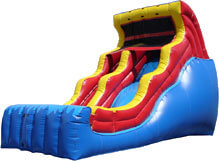 18-foot Double Drop Wet & Dry Slide